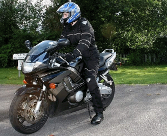 Motorcycle used at Work - ddrt.uk